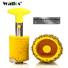 WALFOS Stainless Steel Pineapple Peeler Kitchen Accessories Fruit Knife Cutter Cooking Tools Pineapple Corer Slicer Cutter