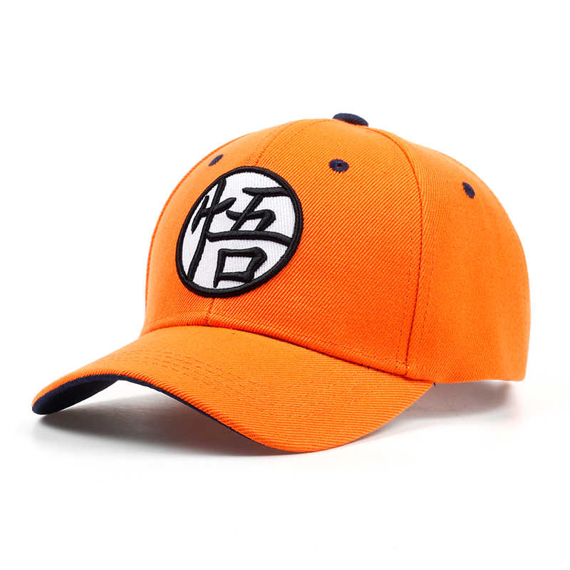 d3fb91d5b20 ... 2018 New High Quality Anime Dragon Ball Z  Dragonball Goku Snapback Hat  For Men Women ...