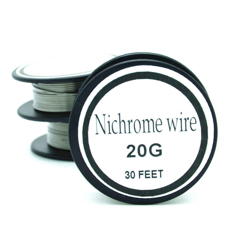 Nichrome wire 20 gauge 25 ft 08mm cantal resistance resistor awg in nichrome wire 20 gauge 25 ft 08mm cantal resistance resistor awg in cable winder from consumer electronics on aliexpress alibaba group keyboard keysfo Images