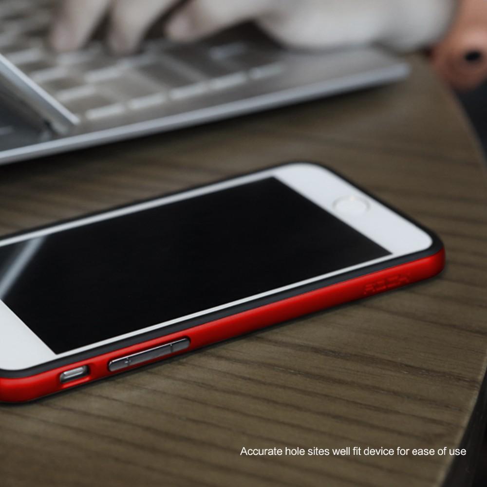 Rock Phone Case For Iphone 6 6s Hard Pc Soft Tpu Ultra Thin Luxury Flash Light Tube Bumper Original