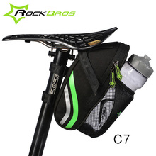 ROCKBROS Bicycle Bike Rear Bags Outdoor Cycling Mountain Road Bike Back Seat Tail Pouch Package Rainproof Nylon Bike Saddle Bag