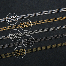 5 Meter/lot 3x2/4x3/6x4mm Silver/Gold/Gunmetal/Antique Bronze Color Necklace Chains Metal Bulk for DIY Jewelry Making Materials