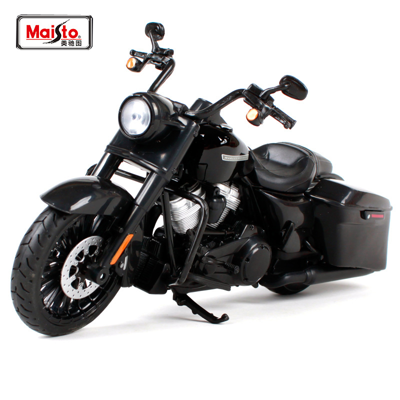 Maisto 1:12 2017 Harley Road King Special MOTORCYCLE BIKE Model FREE SHIPPING NEW ARRIVAL 32336 все цены