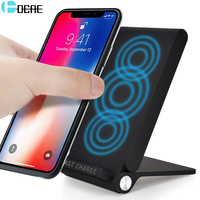 DCAE 10W Quick Wireless Charger For IPhone X 8 Samsung S8 S9 S9 Note 8 Fast