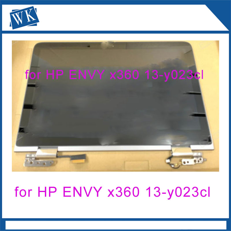 Free shipping original 13.3 4K LCD TOUCH SCREEN 906707 001 for HP ENVY x360 13 y023cl 13 y series
