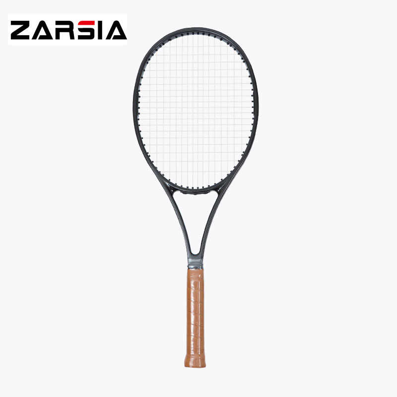 2017 NEW woven black racket taiwan Customs PS97 carbon Racquet 16*19 tennis racket 315g Foamed handle with racket cover