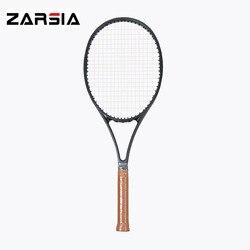 2017 NEUE gewebt schwarz schläger taiwan Gewohnheiten PS97 carbon Schläger 16*19 tennisschläger 315g Geschäumten griff mit schläger abdeckung