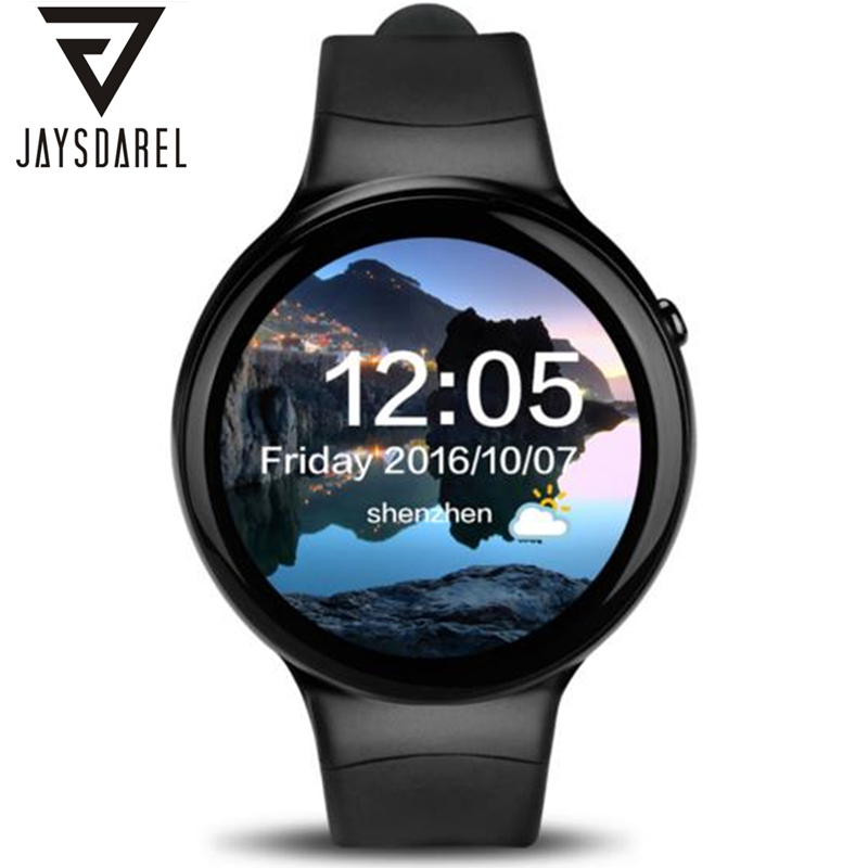 JAYSDAREL I4 Heart Rate Monitor Andriod 5.1 Smart Watch GPS 3G WIFI 1GB+16GB Bluetooth SIM Card Fashion Smartwatch Phone smart phone watch 3g 2g wifi zeblaze blitz camera browser heart rate monitoring android 5 1 smart watch gps camera sim card