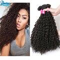 Малайзийский Странный Вьющиеся Волосы 4 Связки Kinky Вьющиеся Волосы Девственные Реми Малайзии Волос Weave Сайты Странный Вьющиеся Волосы Пучки Человека