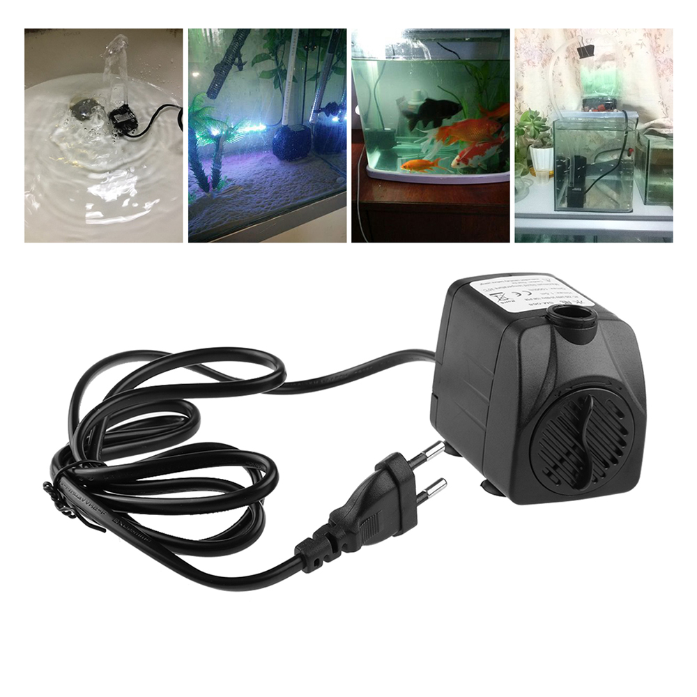 5w 350l h 10w 600l h 15w 800l h submersible aquarium water for Water pump for fish tank