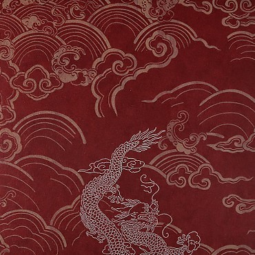 Tea House Chinese Dragon Wallpaper Tv Background Wall Paper