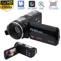 Video Camera Camcorder HD 1080P 24.0MP 18X Digital Zoom Camera Night Vision 20A Drop Shipping