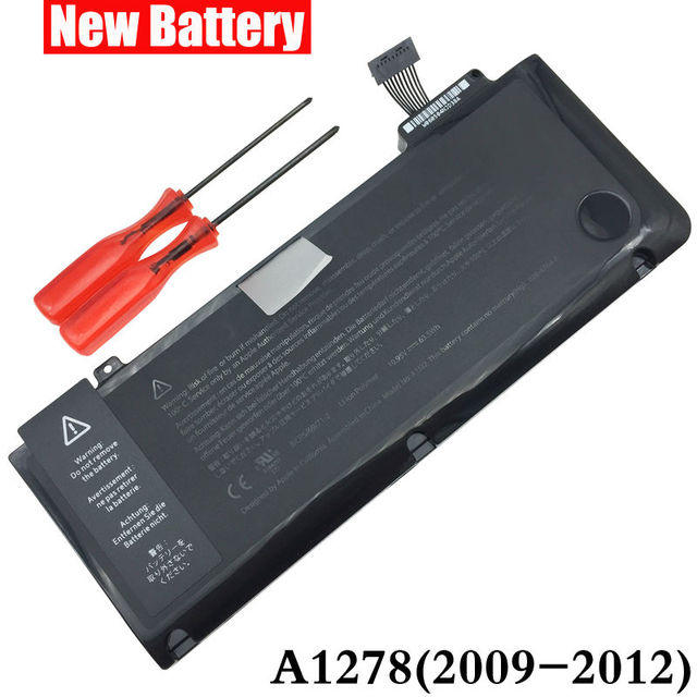 "Laptop Battery For APPLE MacBook Pro 13"" A1278 A1322 MB990 MB991 MC700 MC374 MD313 MD101 MD314 MC724 MC375 020-6765-A MC374LL/A"