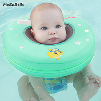 New Safer Baby Neck Swim Ring Circle Non Inflatable Baby Neck Float for 0 12month Newborn Swim Trainer Swimming Pool Accessories