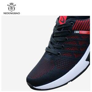 Image 5 - Oddychające męskie obuwie wygodne trampki amortyzujące buty męskie Zapatillas Deportivas Hombre Sapato Masculino Krasovki