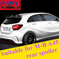 Black Painted Sports Car Suitable For M B Rear Roof Spoiler For M B A180 A200