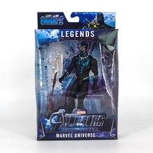 Light Action Figure Black Panther Marvel Legends The Avengers Infinity War Endgame 4 Figure Toys for Children marvel legends series the defenders figure loose pack collection toys