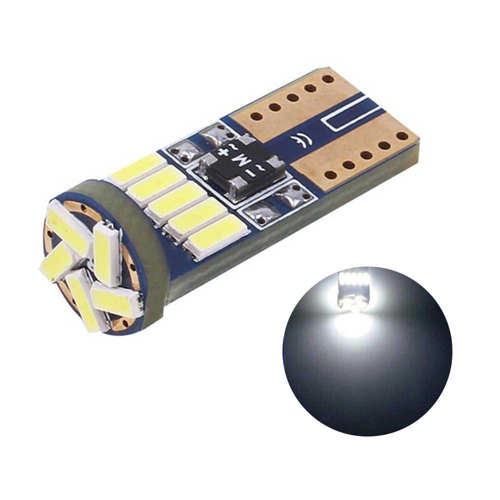 1 PC T10 15SMD 4014 LED żarówki samochodowe samochód światła boczne światło tablicy rejestracyjnej lampa sufitowa Drop Shipping