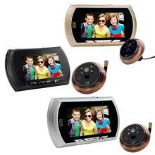 (1 set) 4.3 inch AHD display intelligent Peephole viewer wire Door intercom 2MP night version camera Video door phone system