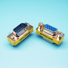 VGA Adapter DB15 15Pin to 15Pin VGA Male to Female Connector Display interface converter head
