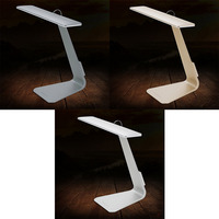 Easy and convenient Ultra thin Adjustable USB Touch Sensor Folding LED Study Night Reading Desk Lamp Bedside Lamp