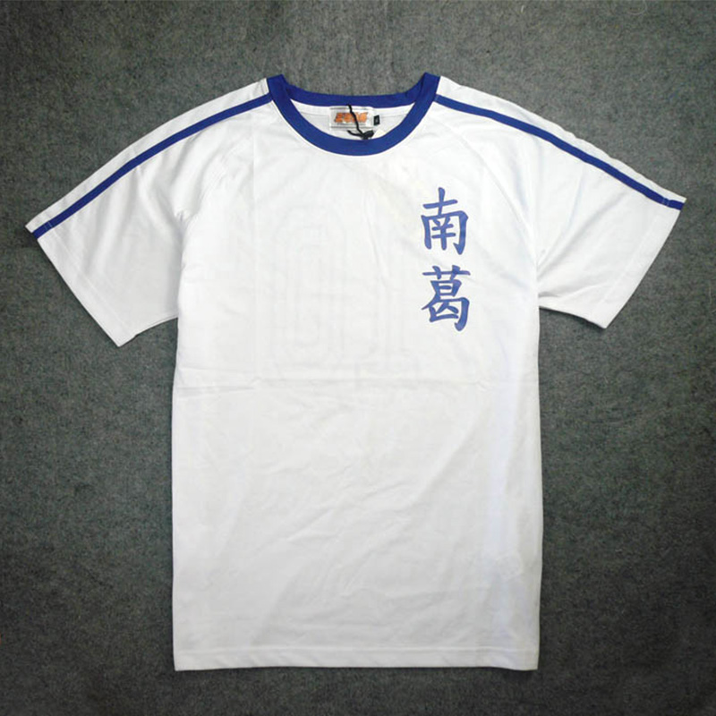 f36b804e9 free shipping jp anime Captain Tsubasa cosplay costume short sleeve unisex  t-shirt cosplay jersey