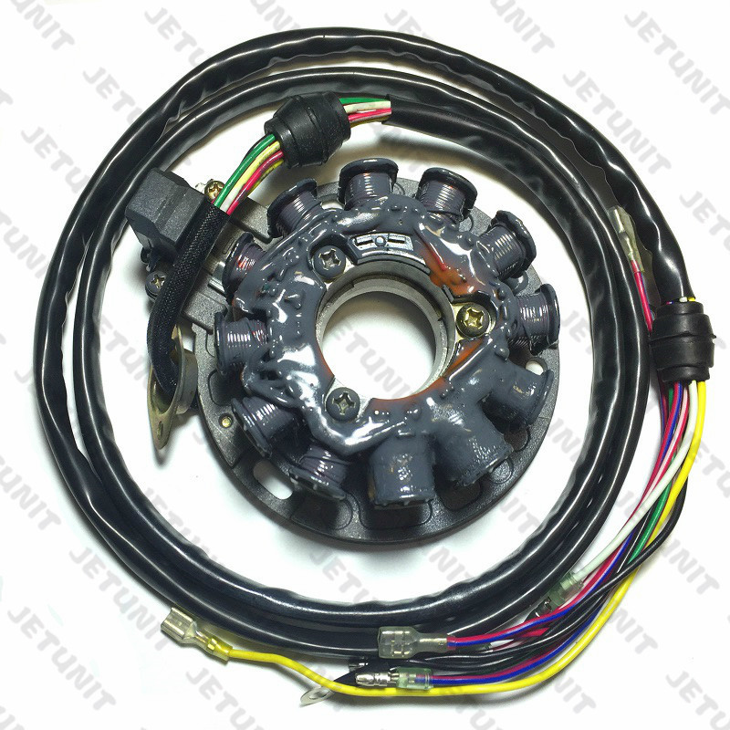 US $145 0 |JETUNIT 100%premium jetski Stator assy assembly Magneto  GENERATOR Polaris 3240202 SL 650 STD1994 1995 parts coil electrical-in  Personal