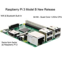 Raspberry Pi 3 Model B 1GB RAM Quad Core 1.2G 64 Bit CPU WiFi Bluetooth on board