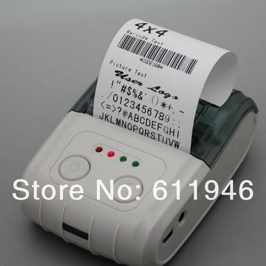 58mm mini bluetooth thermal printer barcode bluetooth printer laber bluetooth printer wireless receipt bluetooth printer(MP300) цена