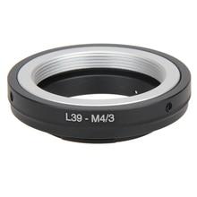 Adattatore per obiettivo in metallo per obiettivo L39 m39 a Micro 4/3 M43 anello adattatore per obiettivo per attacco Leica a Olympus L3FE per attacco Leica L39