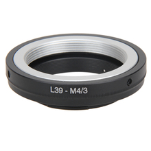 Металлический адаптер объектива для L39 m39 переходное кольцо объектива Micro 4/3 M43 переходное кольцо для объектива Leica для Olympus OM Крепление объектива L3FE для Leica L39 крепление
