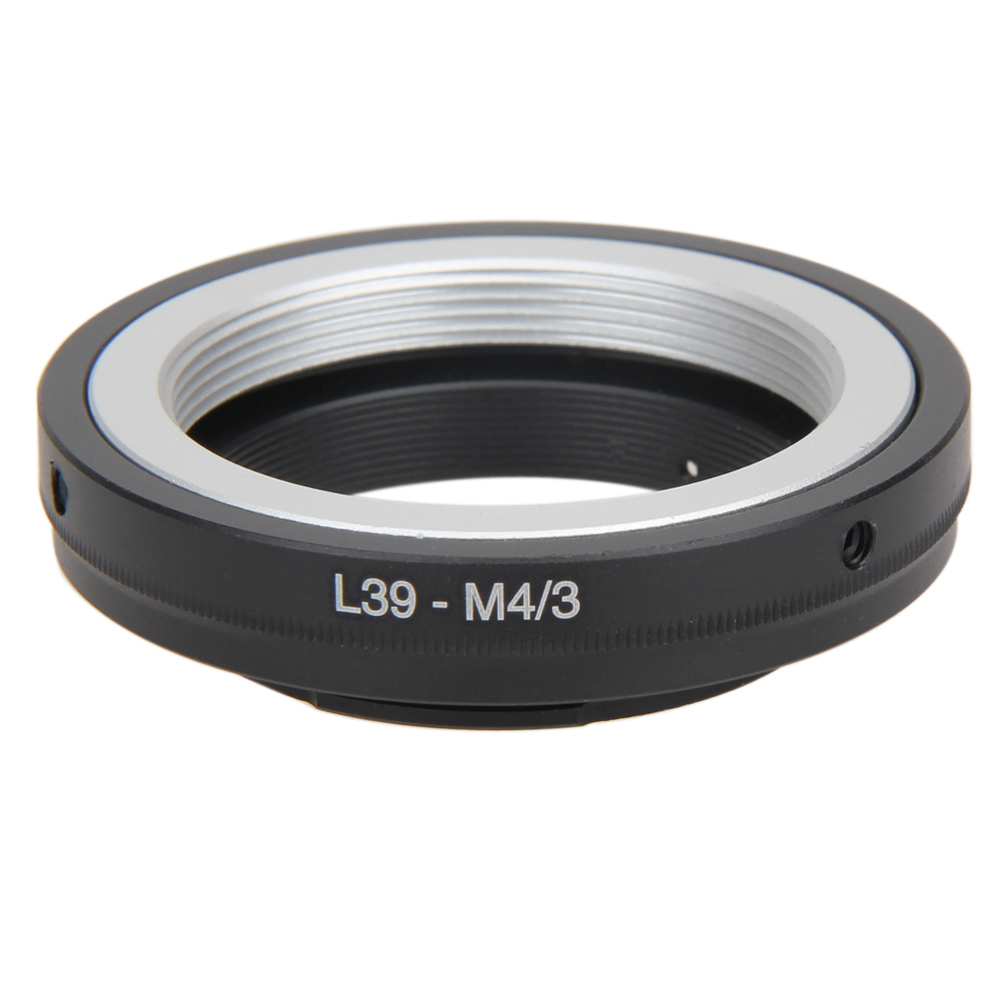 Metal Lens Adapter For L39 M39 Lens To Micro 4/3 M43 Lens Adapter Ring For Leica To Olympus Mount L3FE For Leica L39 Mount