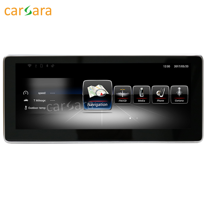 carsara Android display for Benz E Class W212 2013-2014 10.25 touch screen GPS Navigation radio stereo dash multimedia player