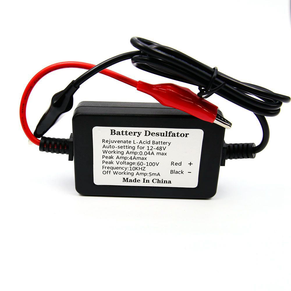 Car battery, desulfation: recovery methods