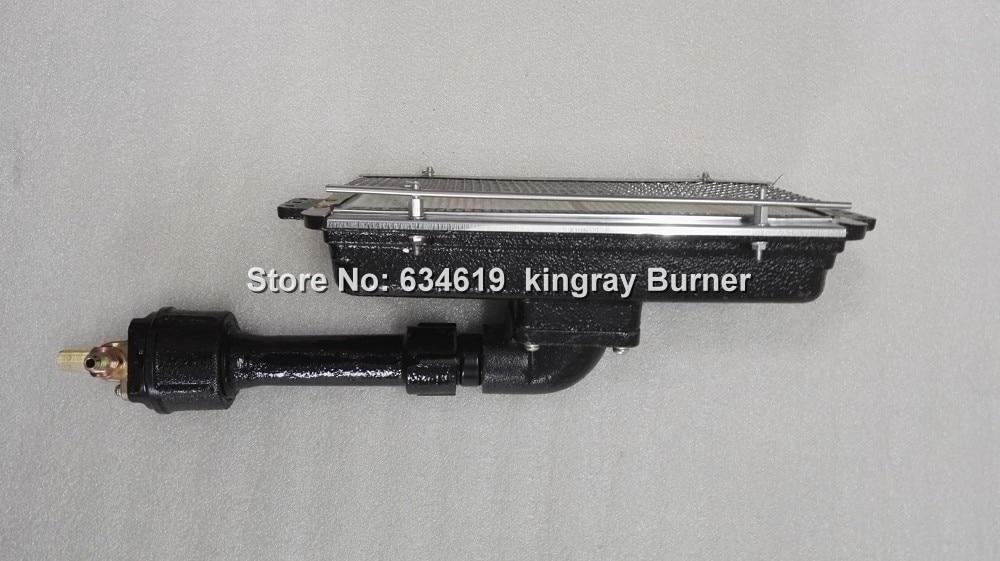 Cast iron industrial gas infrared ceramic burner propane natural gas oven infrared burner bbq grill IR burner