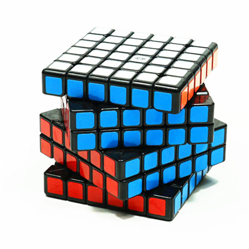 6x6x6 Magic Cube Ultra-Smooth Pro Speed Cube Twist Puzzle Kid Education Toy