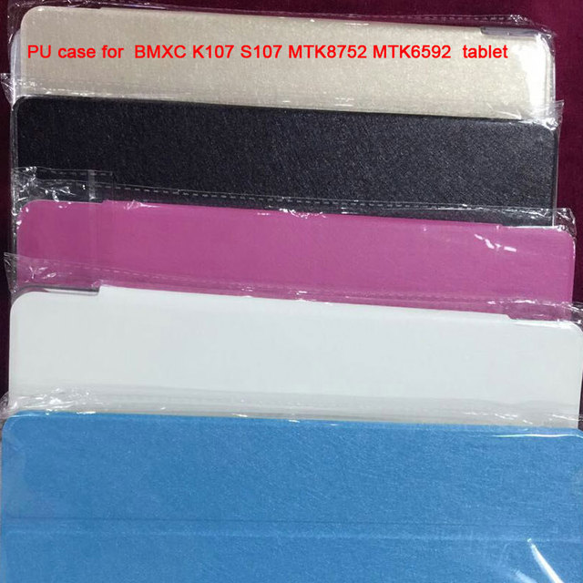 New Pu case for 10.1 inch BMXC K107 S107 MTK8752 MTK6592 tablet