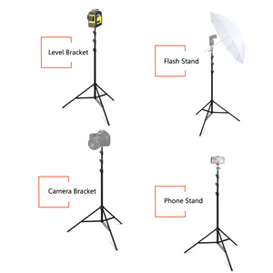 """Image 5 - FIRECORE 2.2M/3M Laser Level Tripod Laser Adjustable 3/4 Knots Height Tripod/Bracket 1/4"""" With Adapter"""