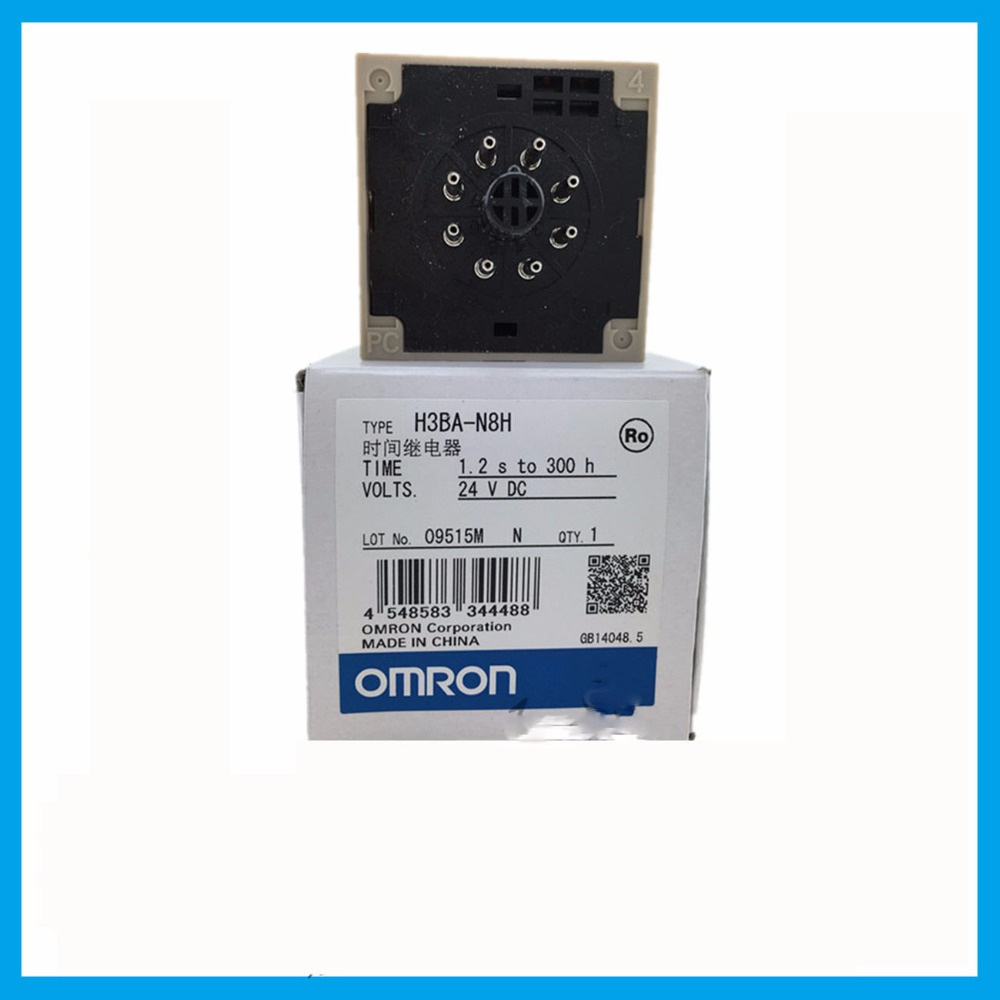 цена на H3BA-N8H DC 24V 24V DC 5A OMRON relay 8 needle electronic component Time relays