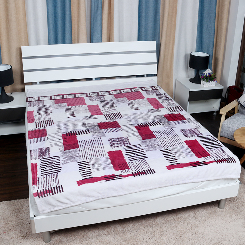 2016 NEW Fashion Korean Flannel Blankets Fleece Flannel Blankets For Bed  Sofa Couch(China (