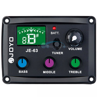 Equalizers JE 63 3 Band EQ JOYO Equalizers 440Hz Use For Guitar Pedals Color Silicon Buttons Guitar Accessories