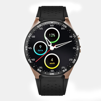 SMARCENT KW88 Smart Watch Android 5 1 Smartwatch MTK6580 Quad Core 3G Bluetooth GPS Heart Rate