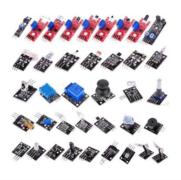 37 видов датчика люкс для Arduino бесплатная доставка