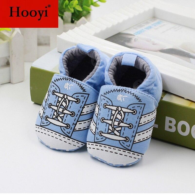 Hooyi хлопковая обувь для мальчика противоскользящие Чехлы для обуви из горного хрусталя, для детей ясельного возраста, для тех, кто только начинает ходить, для новорожденных; обувь для малышей, не начавших ходить носки для девочек - Цвет: 31