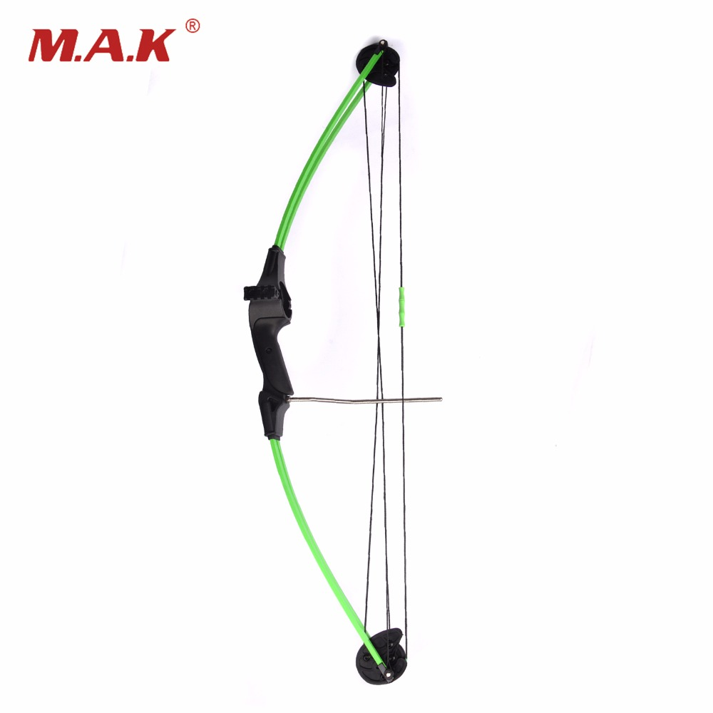 1pc 34 inch Bow Length	15lbs Bow Weight with Fiberglass Handle Compound Bow for Children Hunting Shooting Archery Practice hot sale children compound bow draw weight 8 12 lbs for archery practice competition games bow target hunting shooting
