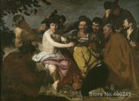 Portrait artist Diego Velazquez The Triumph of Bacchus oil Painting High quality Hand painted