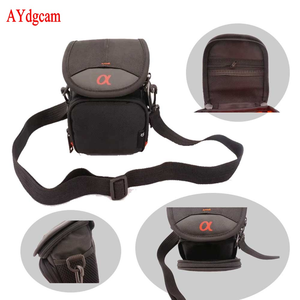 Waterproof Camera Bag Case For Sony A5000 A5100 A6000 NEX-5T NEX-F3/3N NEX6 16-50mm lens RX100 II III RX100 IV V HX90 HX50 HX60 n a p14 5 2 3 6 100