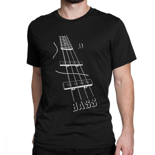 Bass Guitar TShirt Men...