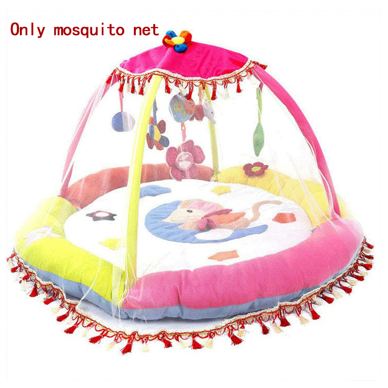 Baby Gym Activity Game Blanket Special Mosquito Net Baby Playmat Rainforest Mosquito Net For Baby Gym Play Mat Toys Bundle Cot