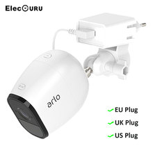 Outlet Holder Wall Mount for Arlo Pro 2/Arlo Camera with Power Adapter Wall-mounted Adjustable Angle Security Bracket